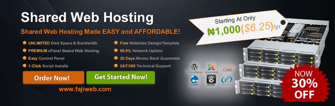 All of our web hosting plans come fully managed so you can focus on your business